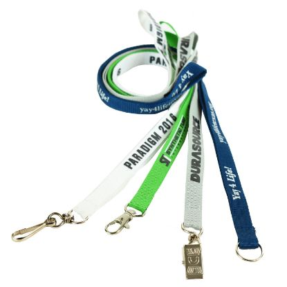 Picture of 1/2 INCH POLYESTER LANYARDS