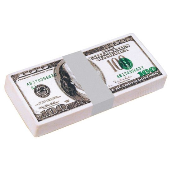 Picture of $100 Dollar Bill Stack Squeezies - Stress Reliever