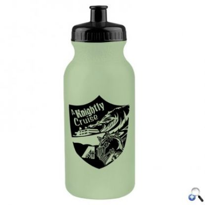 Picture of 20 oz. Glow-In-The-Dark Sports Bottle