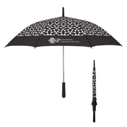 """Picture of 46\"""" Arc Geometric Umbrella"""