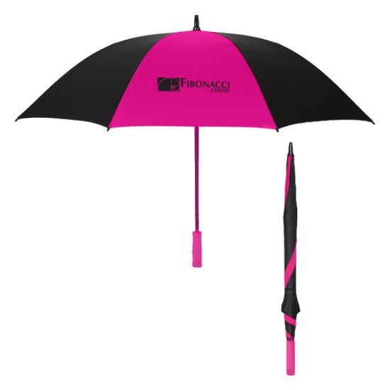 """Picture of 60\"""" Arc Splash of Color Golf Umbrella"""