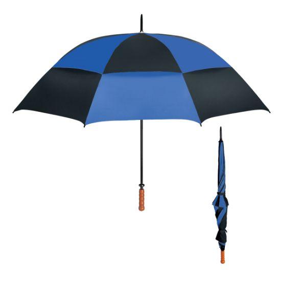 "Picture of 68\"" Arc Windproof Vented Umbrella"