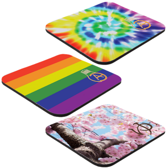 """Picture of 7\"""" x 8\"""" x 1/8\"""" Full Color Hard Surface Mouse Pad"""