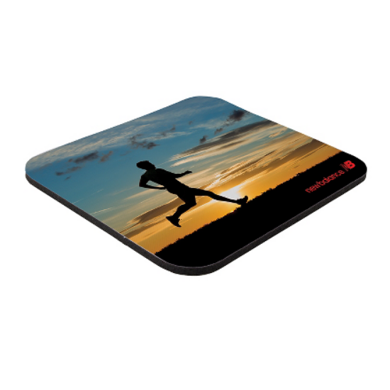"""Picture of 7\"""" x 8\"""" x 1/8\"""" Full Color Soft Surface Mouse Pad"""