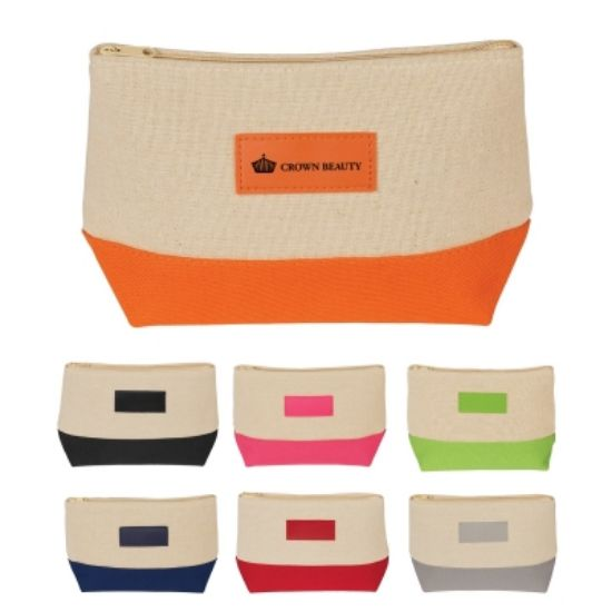 Picture of Allure Jute Cosmetic Bag