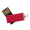 Picture of Aluminum Swivel USB Flash Drive with Small Key Ring- 4 GB