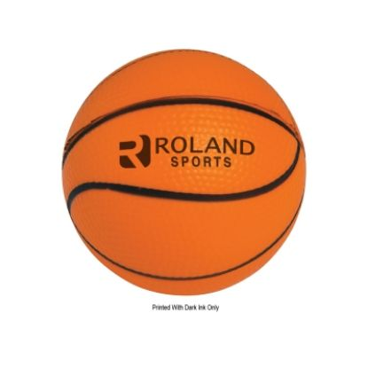 Picture of Basketball Shape Stress Reliever