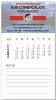 Picture of BIC® Business Card Magnet with 12 Sheet Calendar