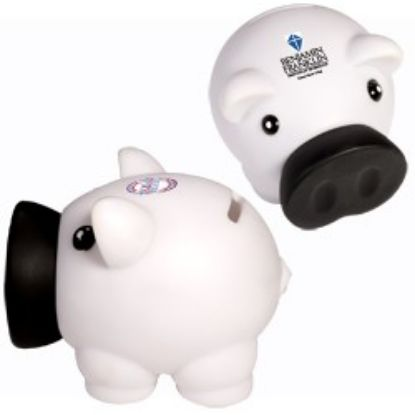 Picture of Bulk Promotional Piggy Coin Bank-  Wholesale