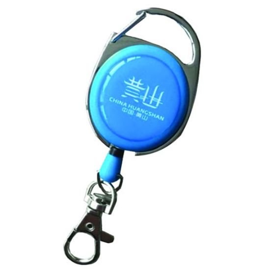 Picture of Carabiner Badge Reel With Lobster Claw