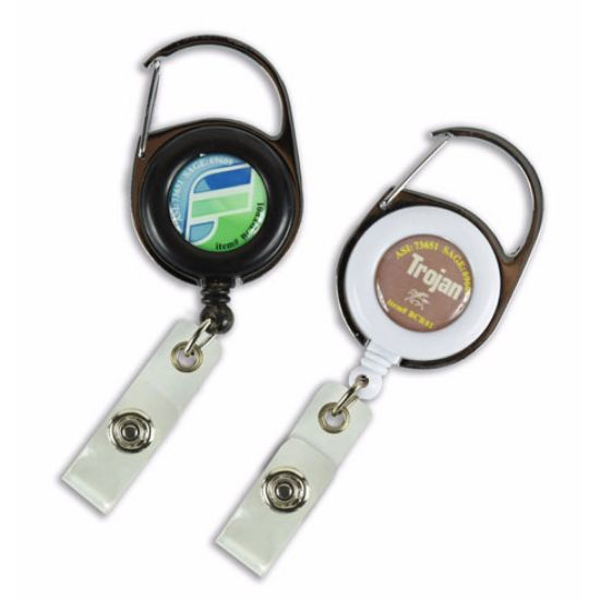 Picture of Carabiner Retractable Badge Reel
