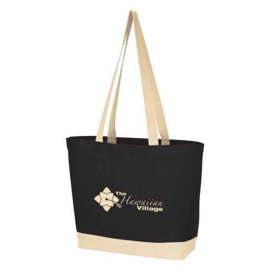 Picture of Charlie Cotton Canvas Tote Bag