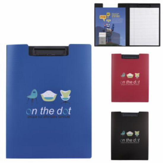 "Picture of Clipboard Folder - 9-1/2\""w x 12-5/8\""h x 5/8\""d"