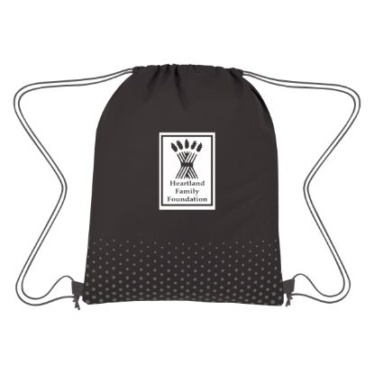 Picture of Connect The Dots Non-Woven Drawstring Bag