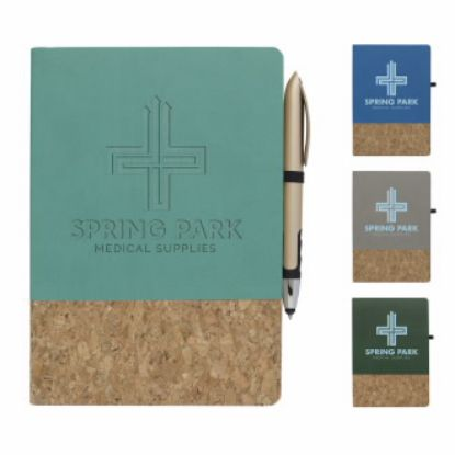 """Picture of Cork Accent Journal - 5-5/8\""""w x 7-7/8\""""h x 3/8\""""d"""