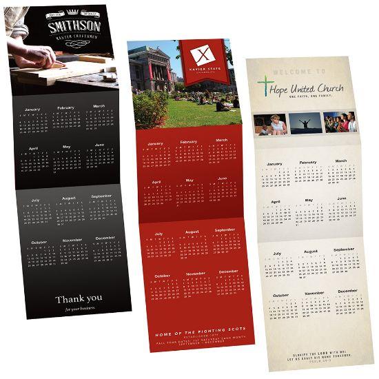 Picture of Custom Tri-Fold Calendars