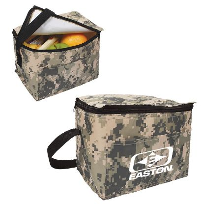 Picture of Digital Camo 6 Pack Cooler Bag