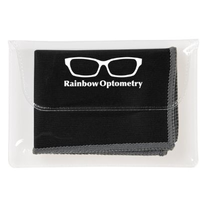 Picture of Dual Microfiber Cleaning Cloth In Case