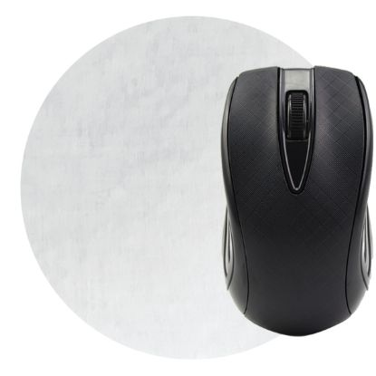 """Picture of Dye Sublimated Computer Mouse Pad - 5\"""" Dia."""