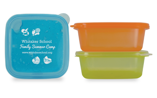 Picture of EZ Freeze Square Food Storage Container