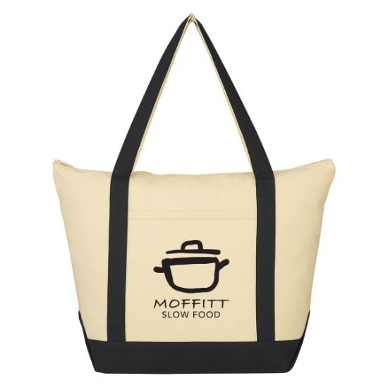 Picture of Folksy Cotton Tote Bag