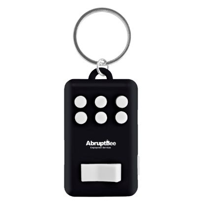 Picture of Fun Key Ring With Light Keychain
