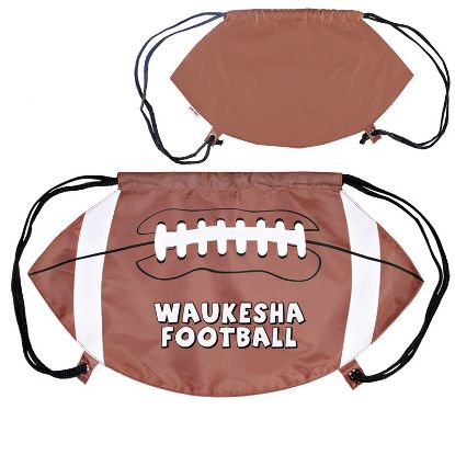 Picture of GAMETIME!® FOOTBALL DRAWSTRING BACKPACK