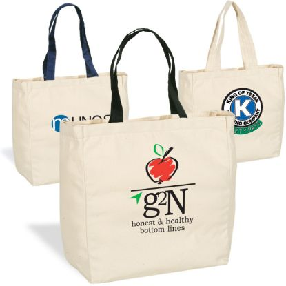 Picture of GIVE-AWAY CANVAS TOTE BAG