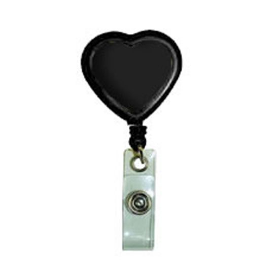 Picture of Heart Shaped Retractable Badge Reel