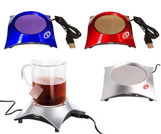 Picture of Ibank® Usb Cup Warmer + 4 Port Usb Hub