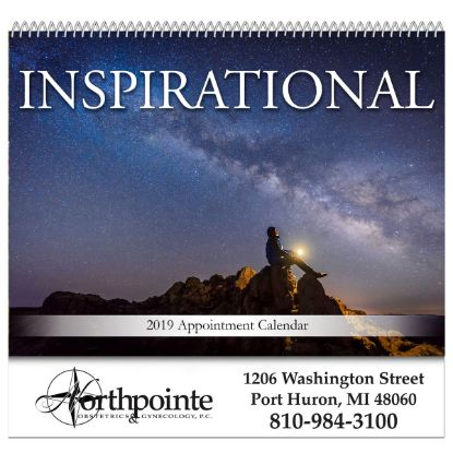 Picture of Inspirational Spiral Bound Wall Calendar