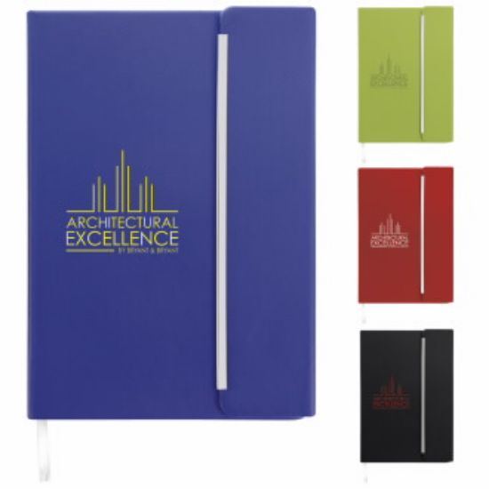 """Picture of Journal with Magnetic Closure - 5-7/8\""""w x 8-1/4\"""" h x 5/8\""""d"""