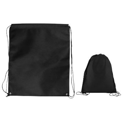 Picture of Jumbo Non-woven Drawstring Cinch Up Backpack