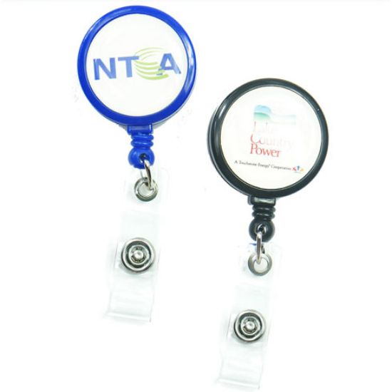 Picture of Large Retractable Badge Reel Holder