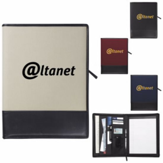 """Picture of Madison Padfolio Journal - 10-1/4\""""w x 13-1/2\""""h x 1-1/2\""""d"""