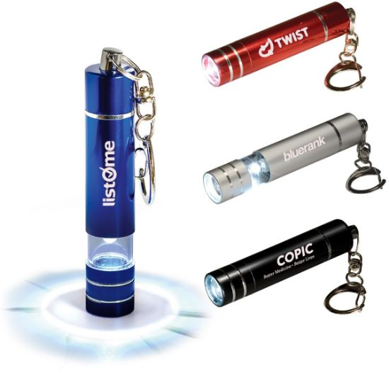 Picture of Micro 1 LED Torch Key Light Key Chain