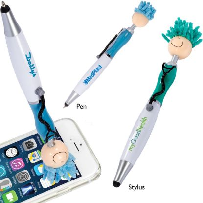 Picture of MopTopper™ Screen Cleaner with Stethoscope Stylus Pen