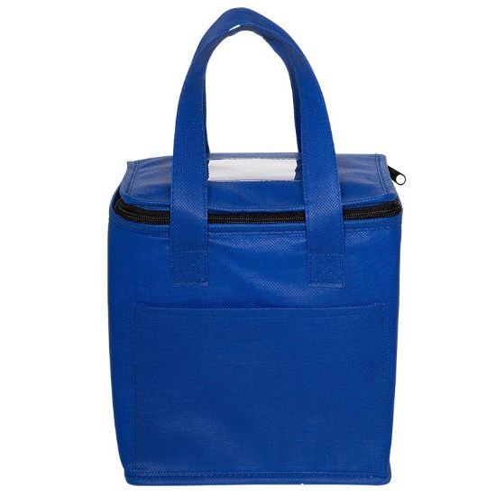 Picture of Non-Woven Cubic Lunch Bag with ID Slot