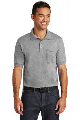 Picture of Port & Company® Core Blend Jersey Knit Pocket Polo