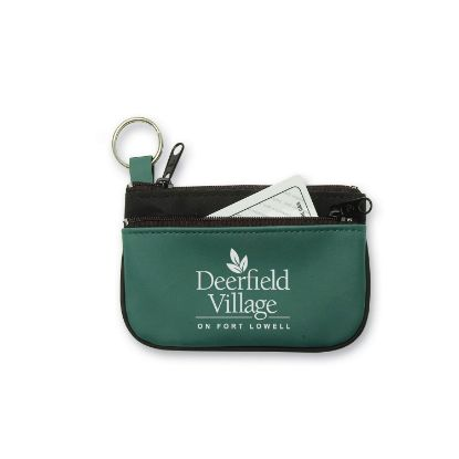 Picture of Double Pocket Coin & Key Pouch