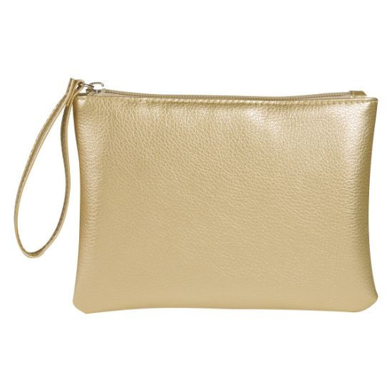 Picture of METALLIC DIVINE COSMETIC BAG/POUCH