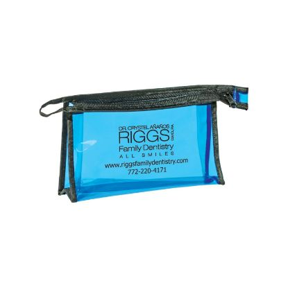 Picture of Zippered Amenities Pouch Bag