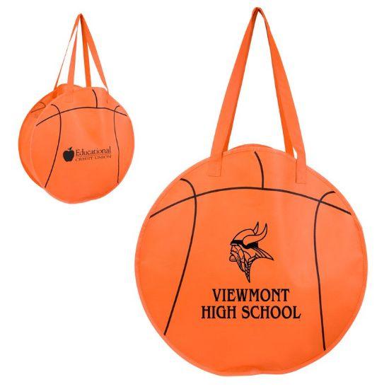 Picture of RALLYTOTES™ BASKETBALL TOTE BAG