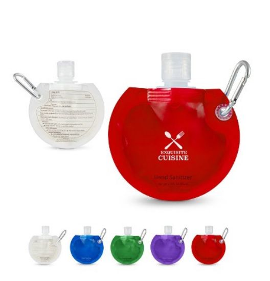 Picture of Round Collapsible Hand Sanitizer - 1.5 Oz