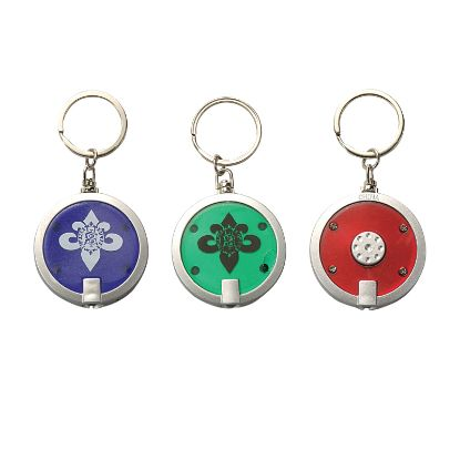 Picture of Round LED Light Keyring / KeyChain