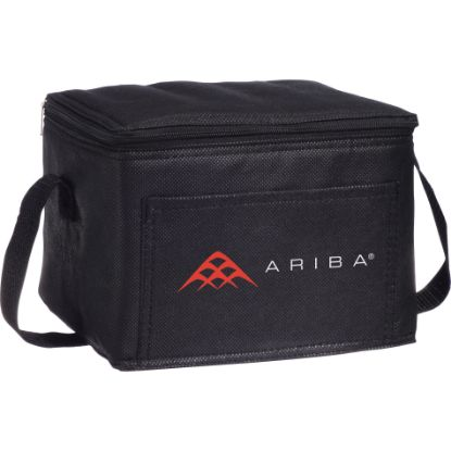 Picture of Sea Breeze 6-Can Non-Woven Lunch Cooler Bag