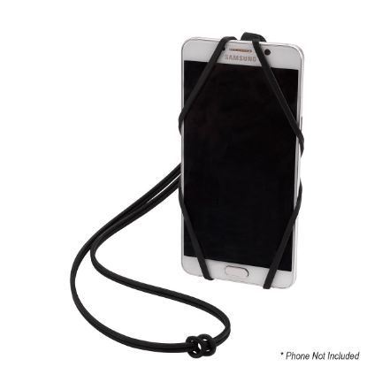 Picture of SILICONE LANYARD WITH PHONE HOLDER & WALLET