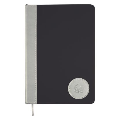 """Picture of Silver Medallion Journal - 5 ?\"""" W x 8 ¼\"""" H"""