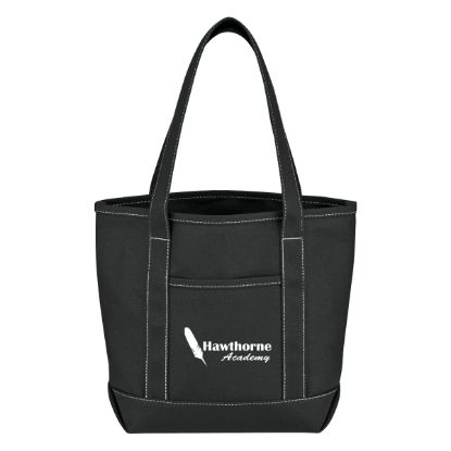 Picture of Small Cotton Canvas Yacht Tote Bag