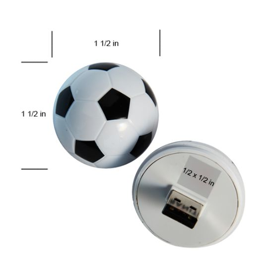 Picture of Soccer Ball USB Flash Drive- 4 GB